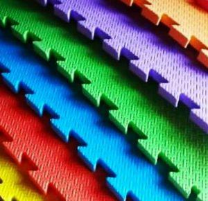 تاتامی با رنگ بندی متفاوت